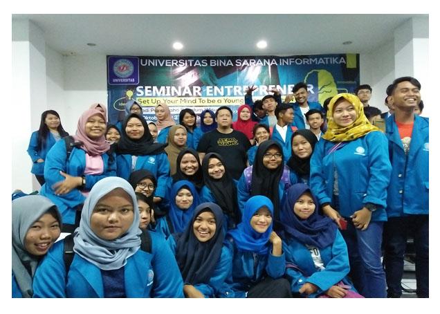 Hari Ke 3 Dan 4, Universitas BSI Kampus Karawang Mengadakan Seminar Entrepreneur