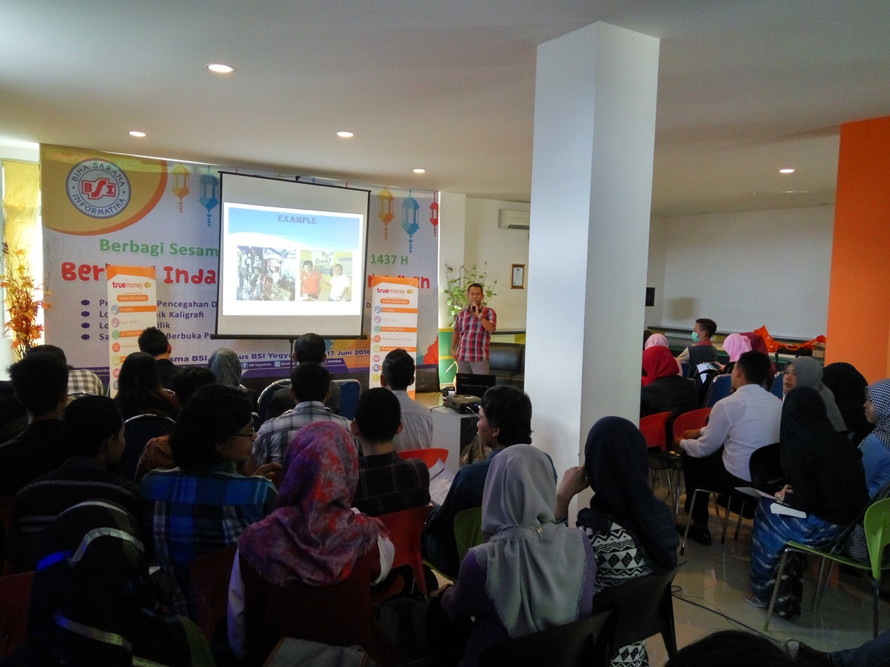 Workshop Kuliner dan Truemoney  di Wisma BSI Yogyakarta