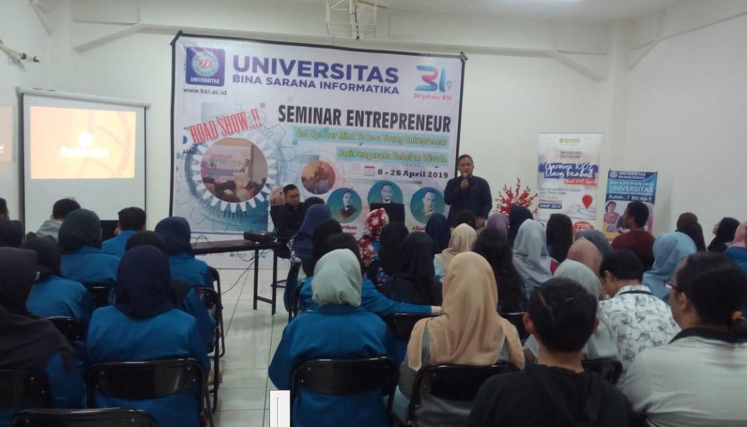 Roadshow Seminar Entrepreneur April 2019 - Bogor